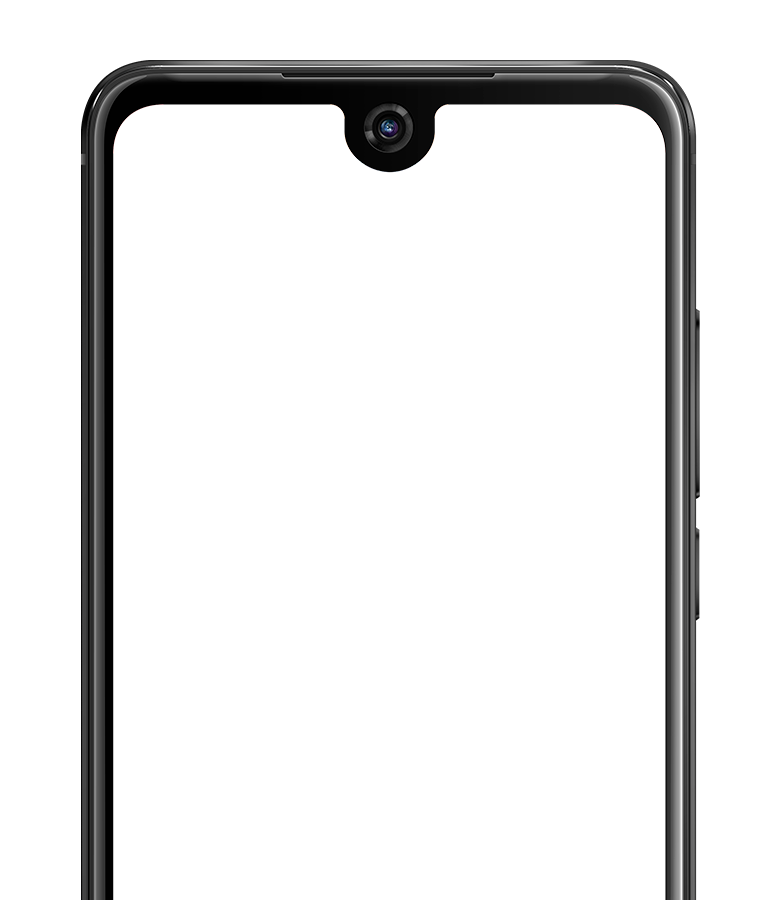 View 2 smartphone frame